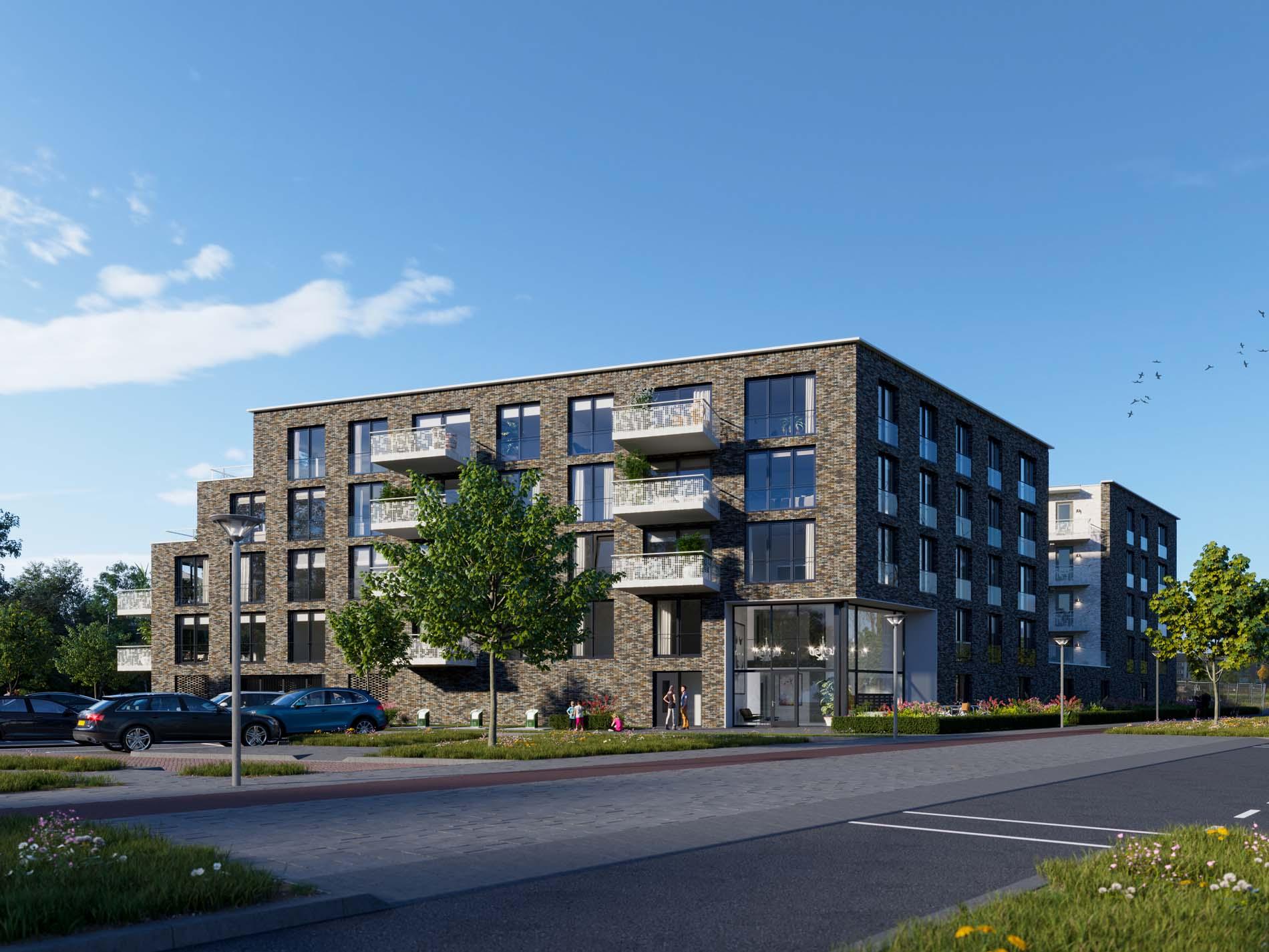 Project Anna's Hof in Hilversum met ASWA Keukens (1)