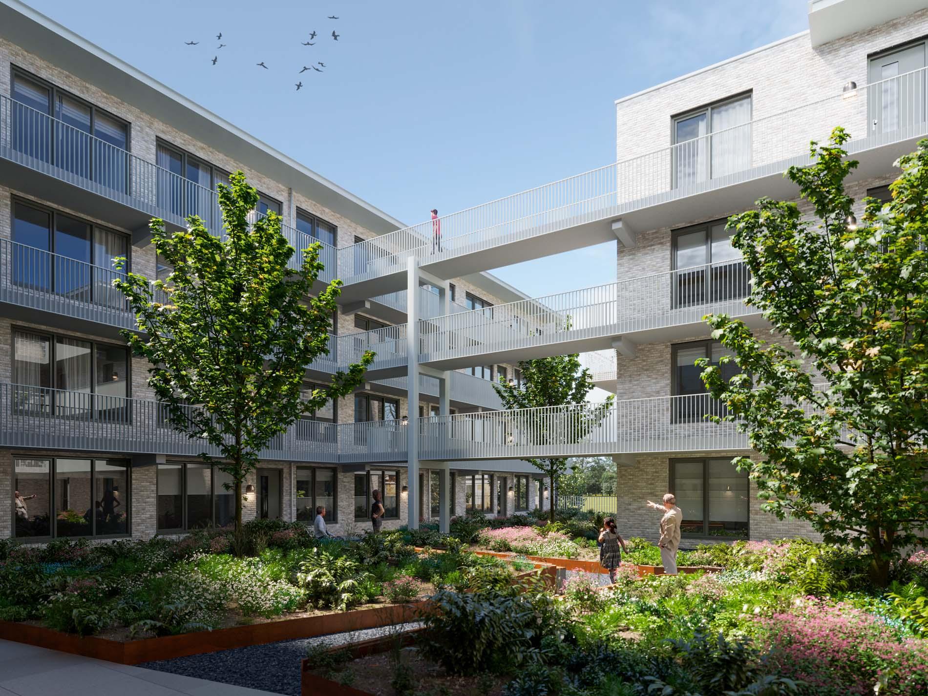 Project Anna's Hof in Hilversum met ASWA Keukens (3)