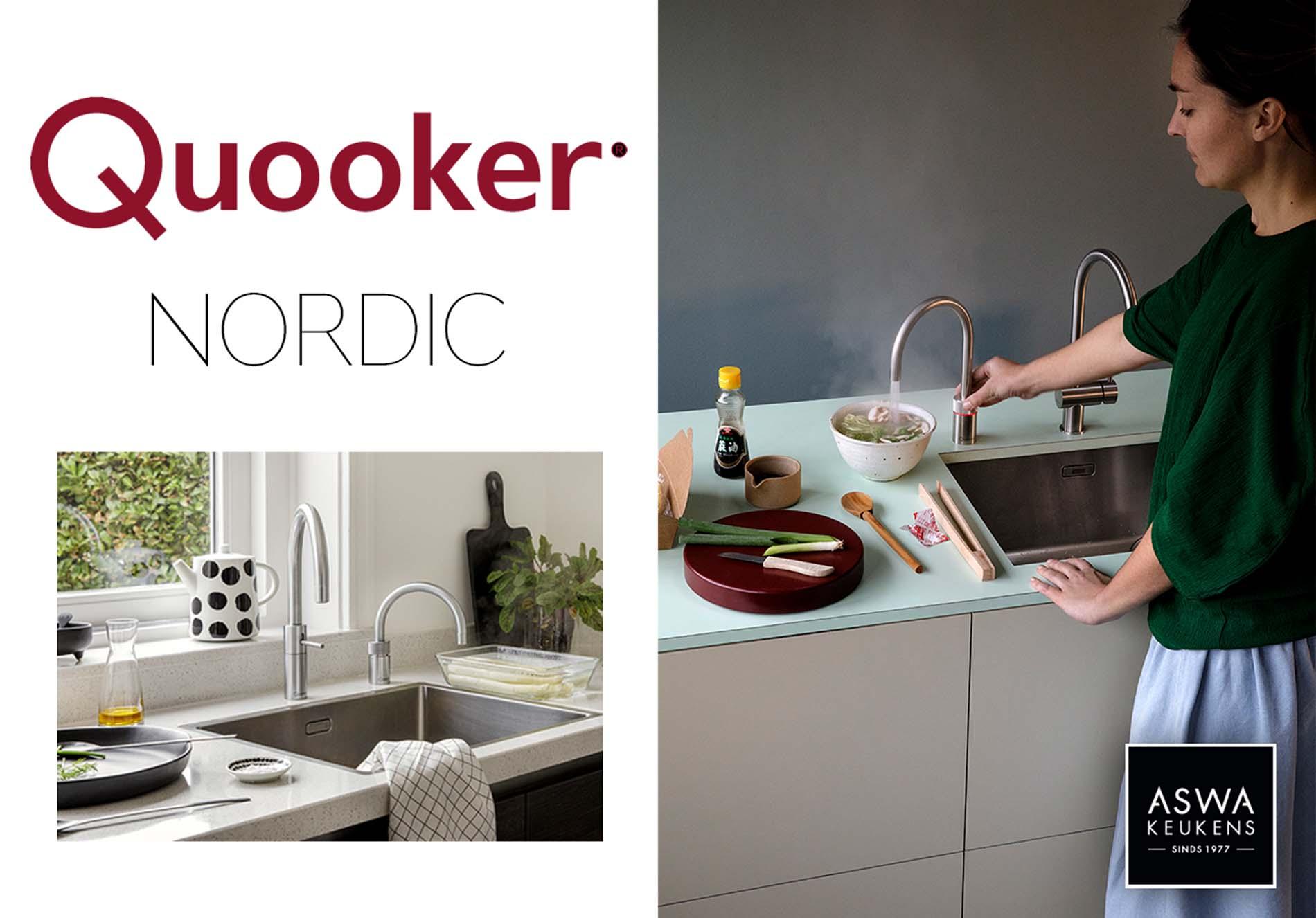 Quooker Nordic Kokendwaterkraan - ASWA Keukens keukenkraan