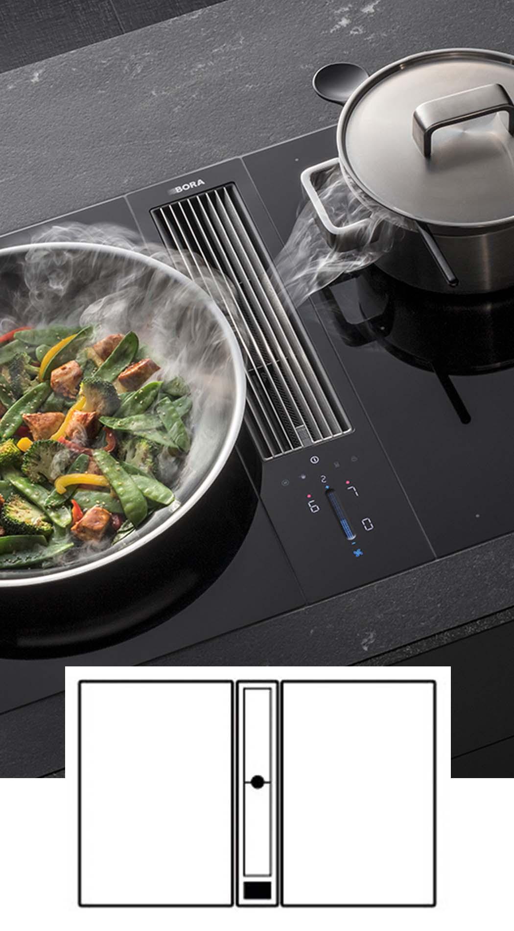 BORA Classic 2.0 - BORA kookplaat met afzuiging, ASWA Keukens