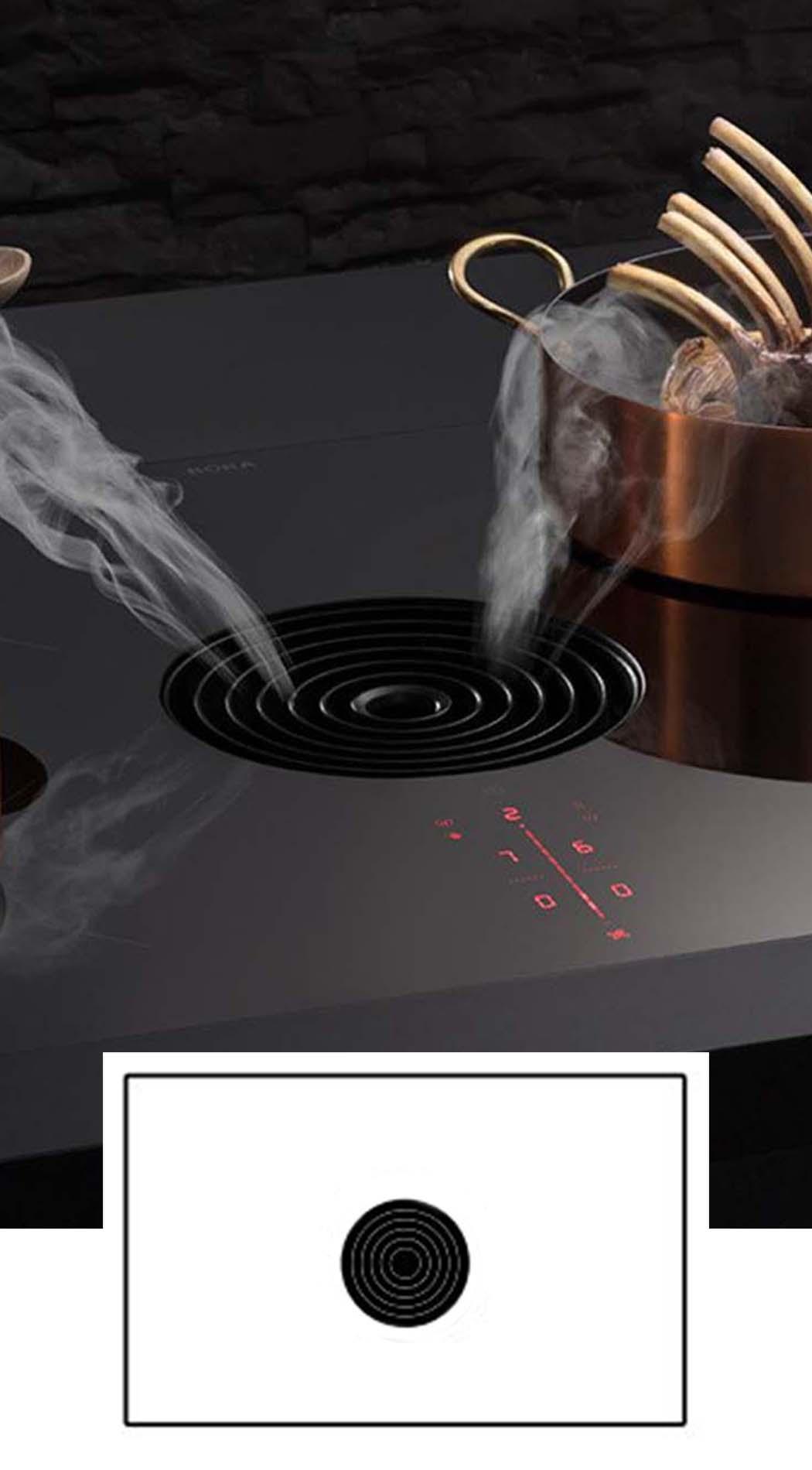 BORA Pure - BORA kookplaat met afzuiging, ASWA Keukens