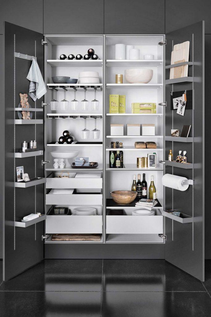 Keukentrends 2019 - Keuken Inspiratie SieMatic keuken opbergsysteem, ASWA Keukens