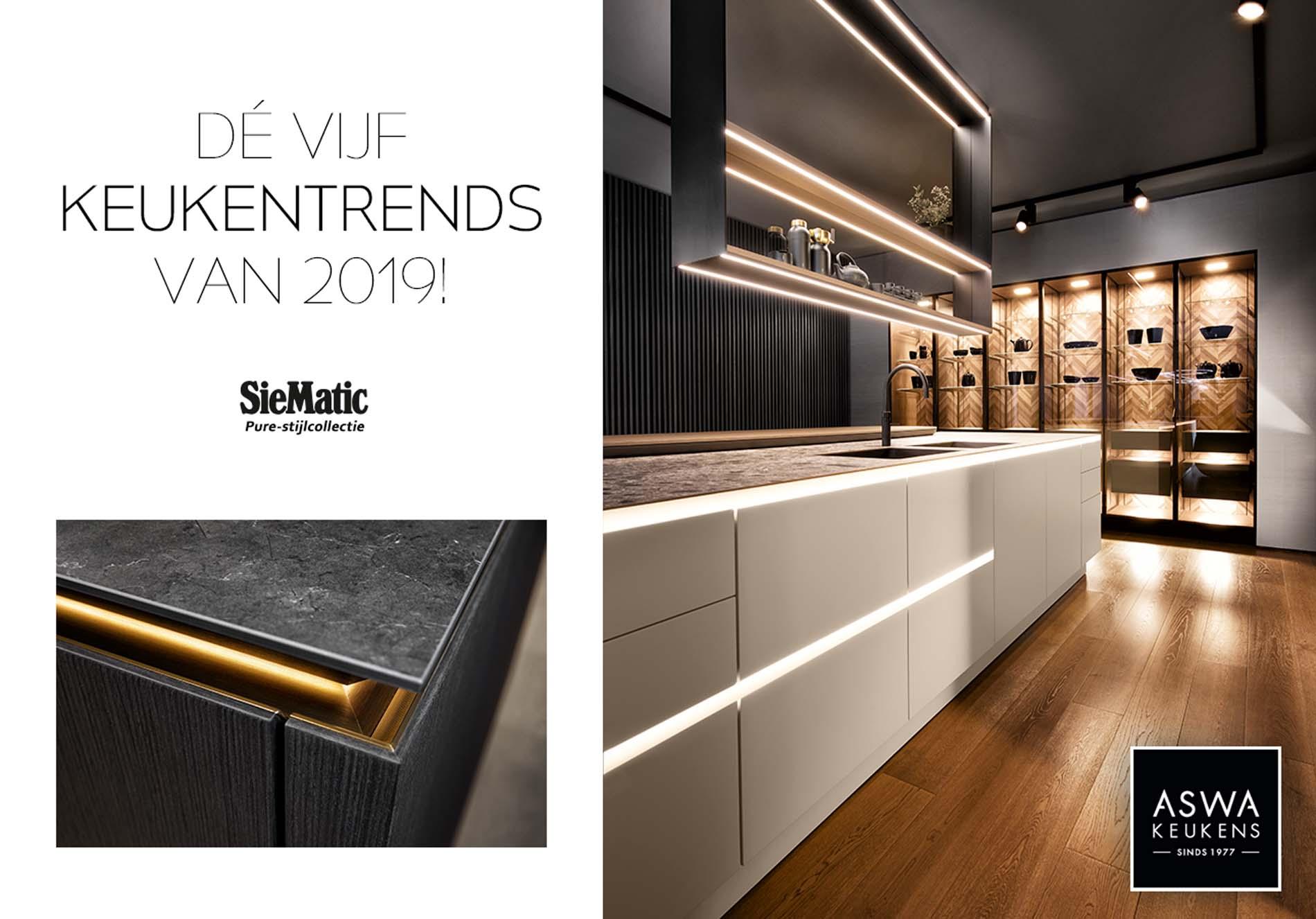 Keukentrends 2019 - Keuken Inspiratie, moderne keuken van SieMatic (10)