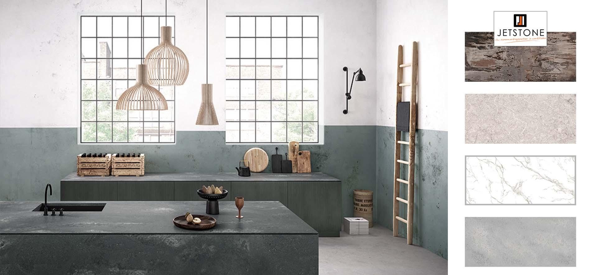 Keukentrends - Keuken Inspiratie trends werkbladen Jetsone, ASWA Keukens