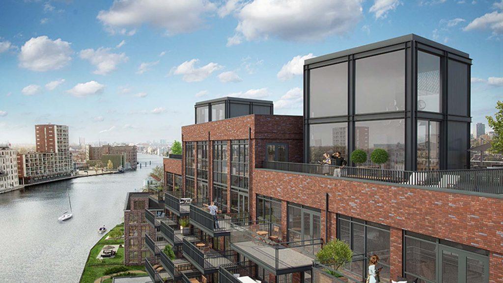 Project De Industrieel in Zaandam