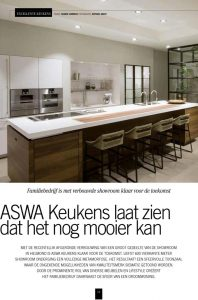 Internationaal interieurarchitect Perry Hanssen Publicaties, ASWA Keukens
