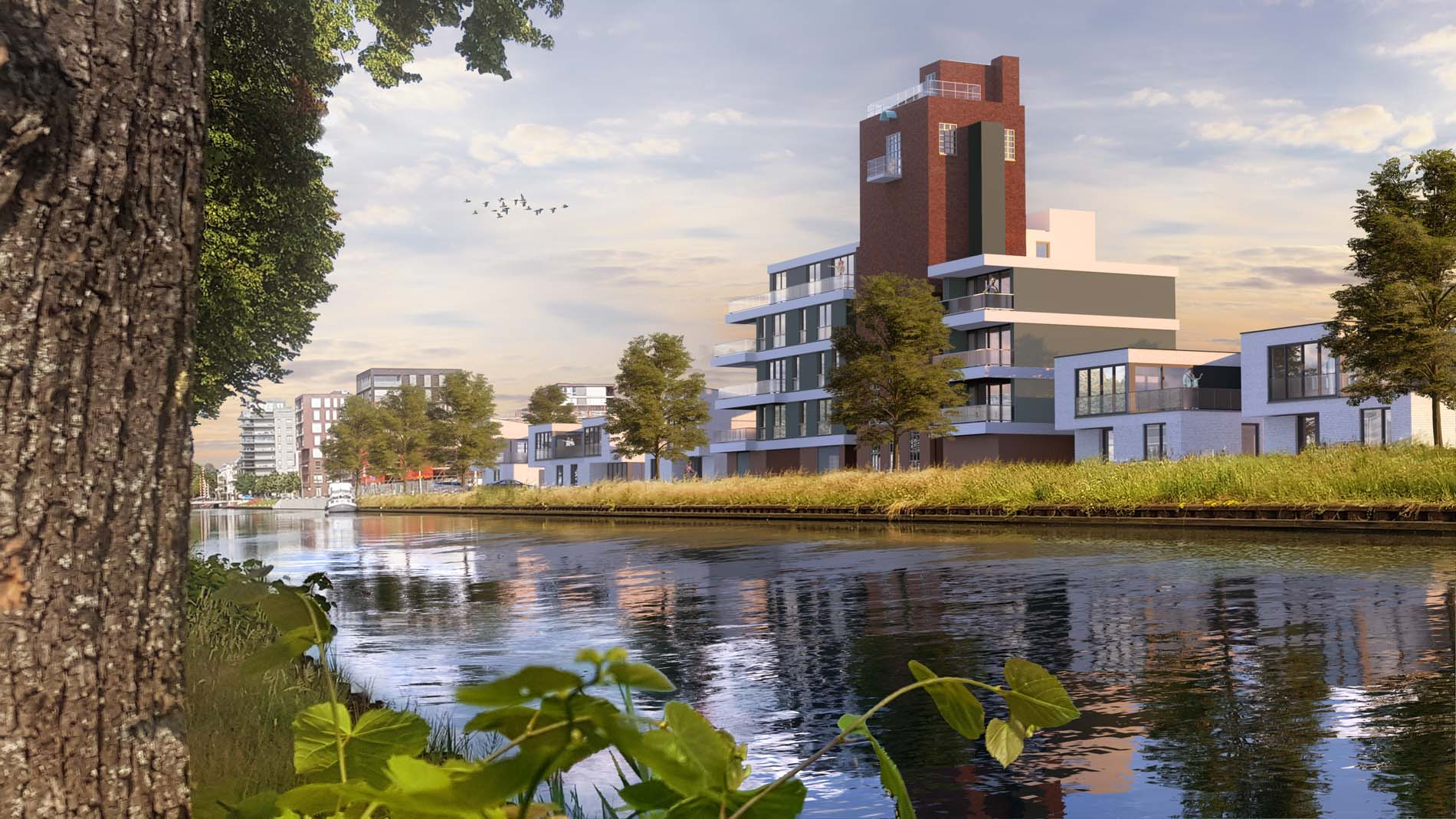 Project Watervilla Park Zuytwillemsvaert in Weert, ASWA Keukens (2)