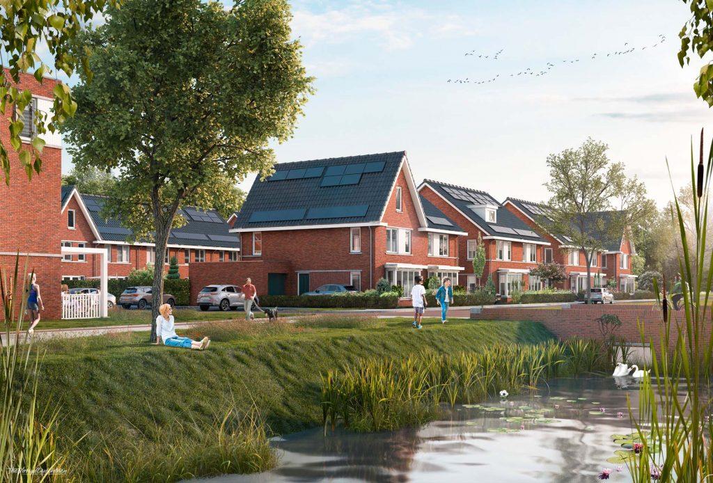 Project Waterrijk Het Zand in Ridderkerk, ASWA Keukens -2kap en vrijstaand