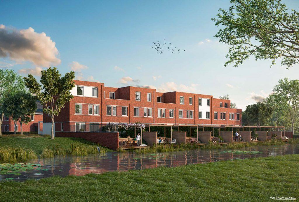 Project Waterrijk Het Zand in Ridderkerk, ASWA Keukens - eengezinswoning aan het water (3)