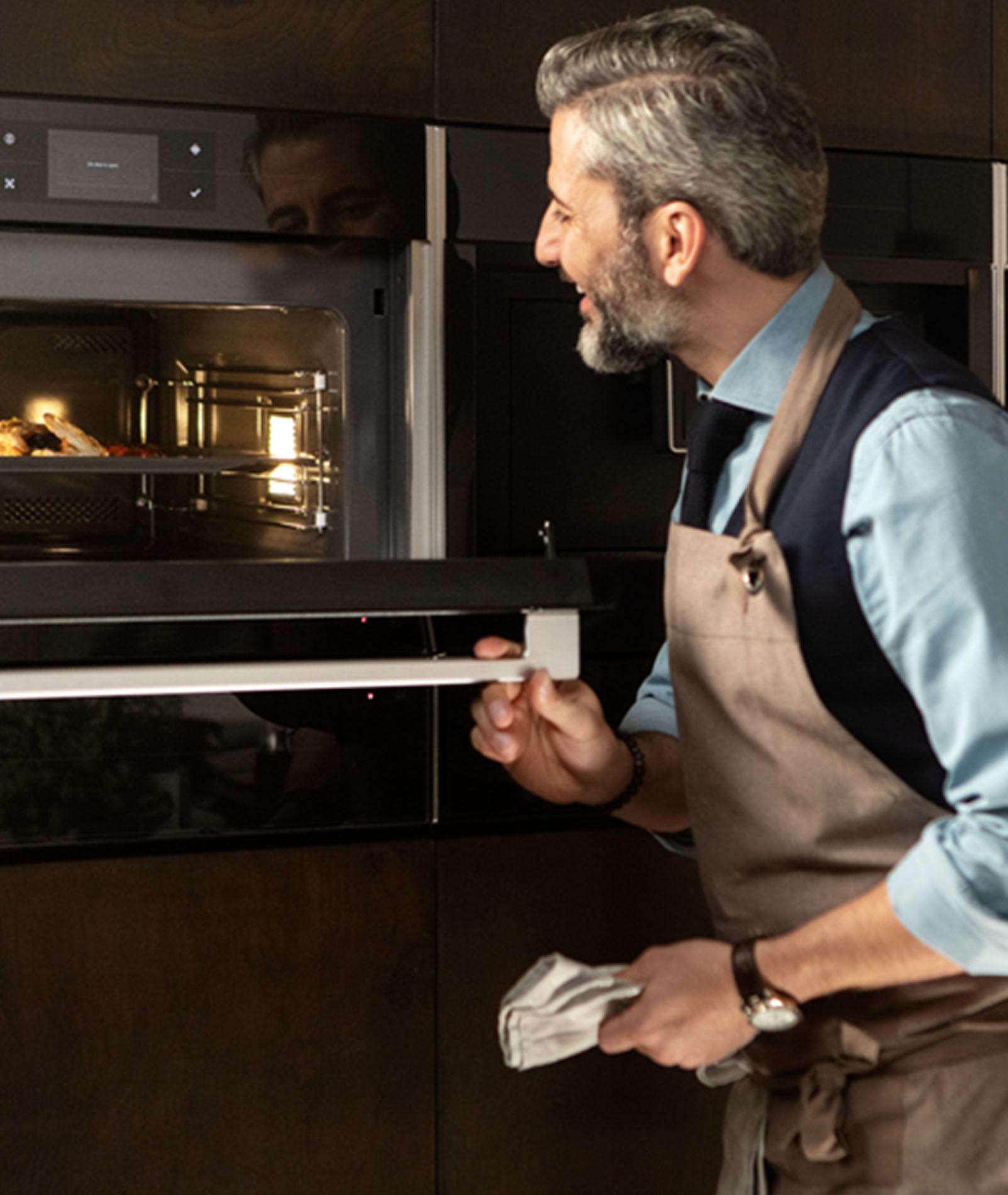 3 in 1 oven, magnetron & stoomoven - ASWA Keukens