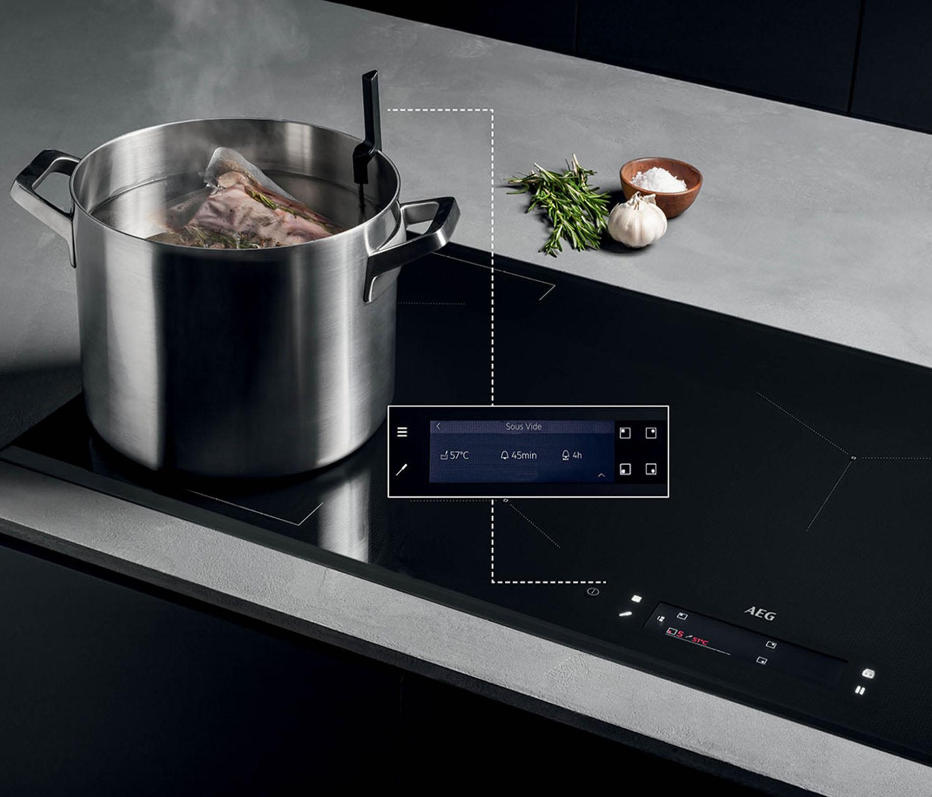 Keukentrends 2020 - AEG SenseCook inductiekookplaat, Keukenapparatuur ASWA Keukens