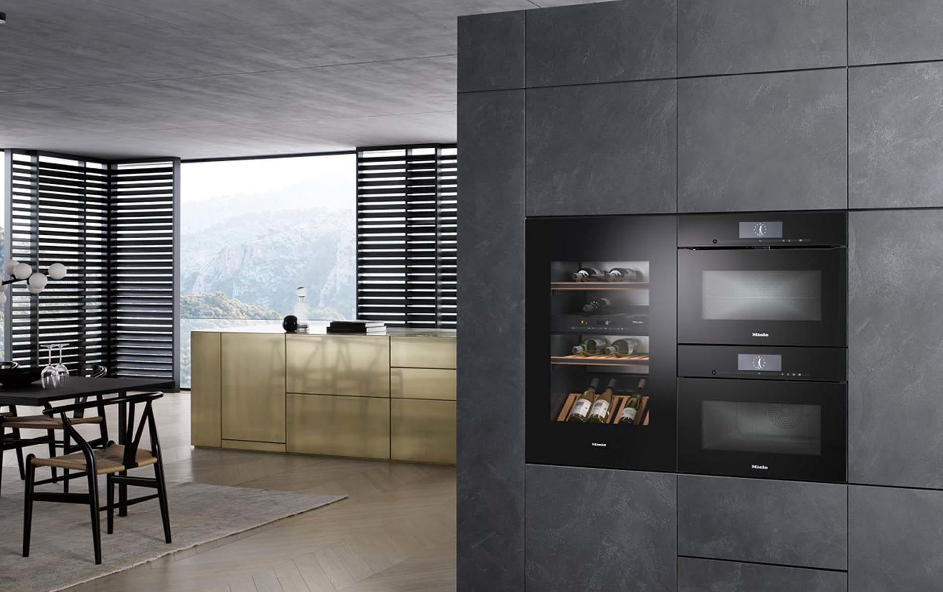 Keukenapparatuur Miele wijnklimaatkast met ovens, ASWA Keukens