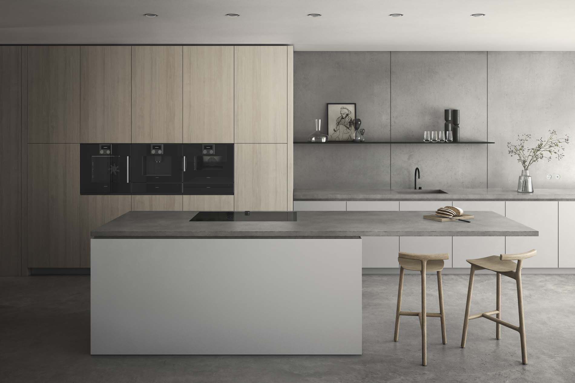 SieMatic Pure, Keuken met kookeiland, ASWA Keukens