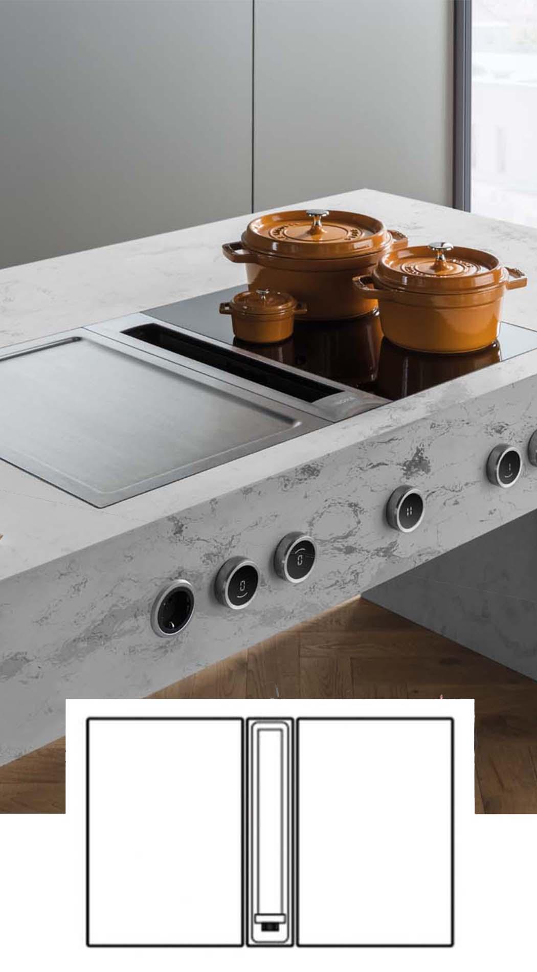 BORA Professional 3.0, ASWA Keukens
