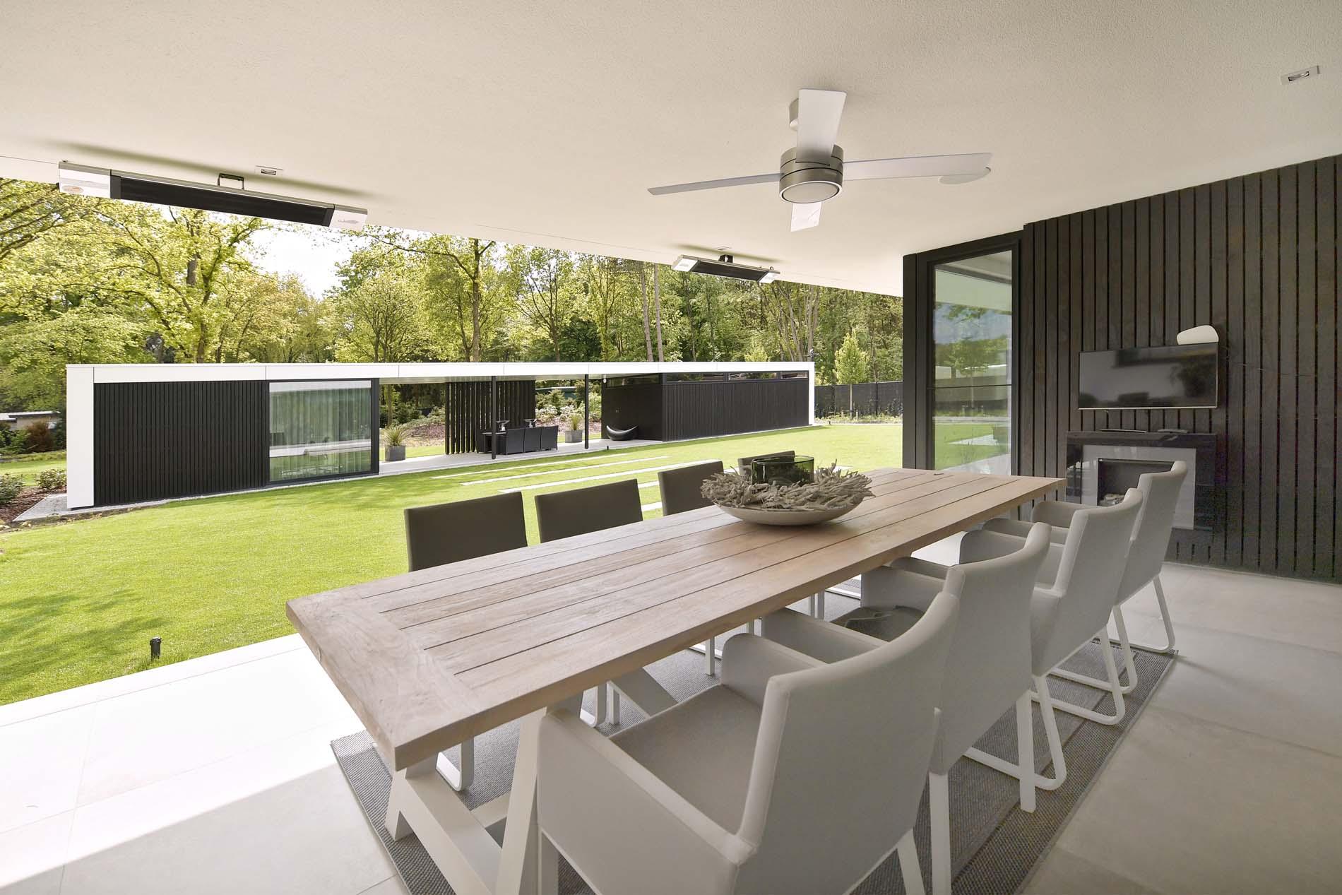 Strakke moderne villa The Art of Living, ASWA Keukens