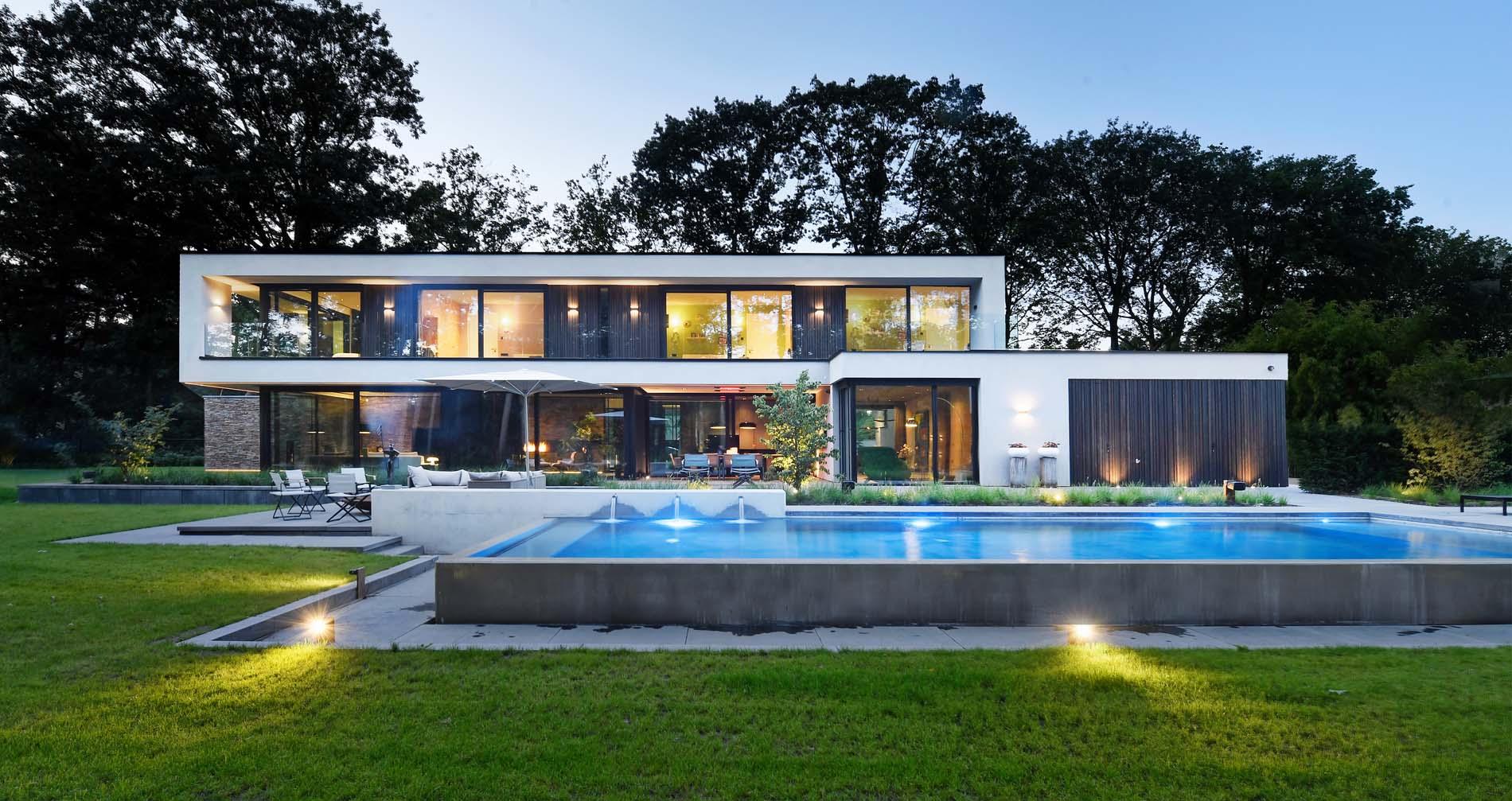 Unieke villa in de bossen The Art of Living, ASWA Keukens