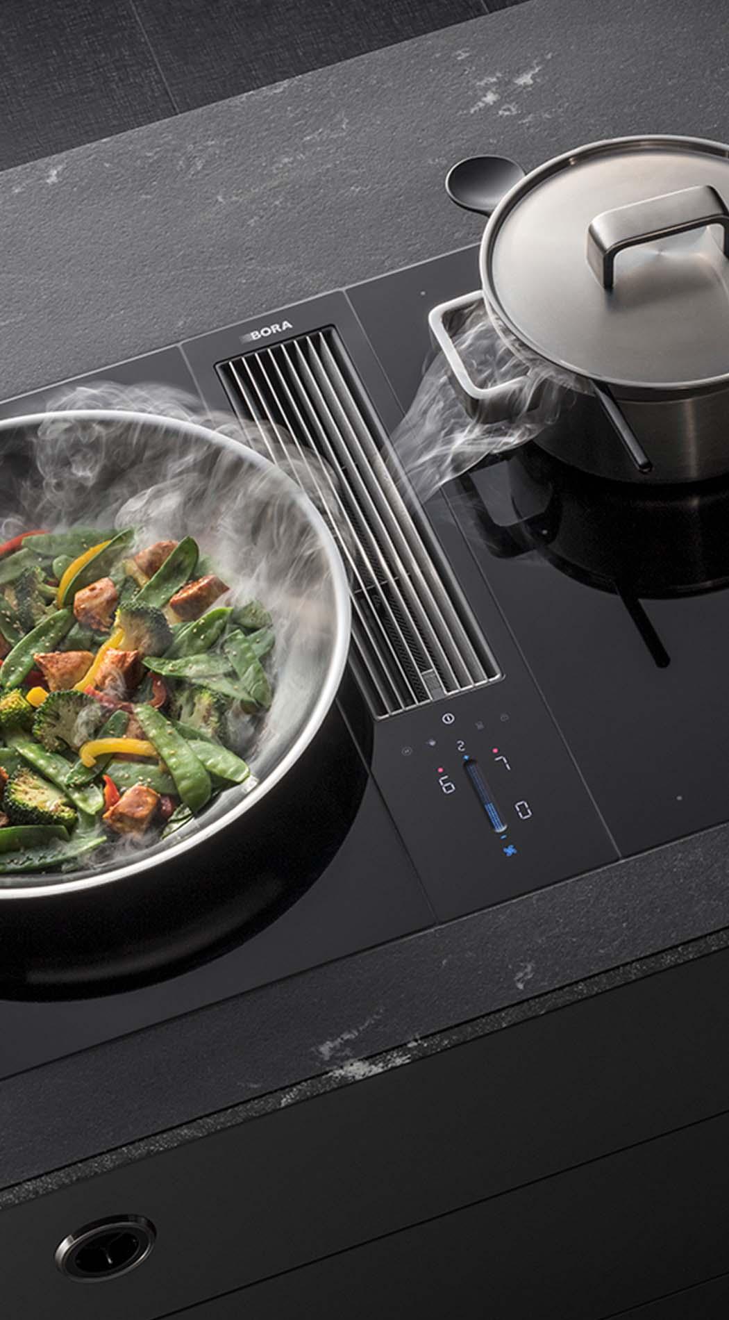 BORA Classic, BORA Kookplaat met Afzuiging, ASWA Keukens