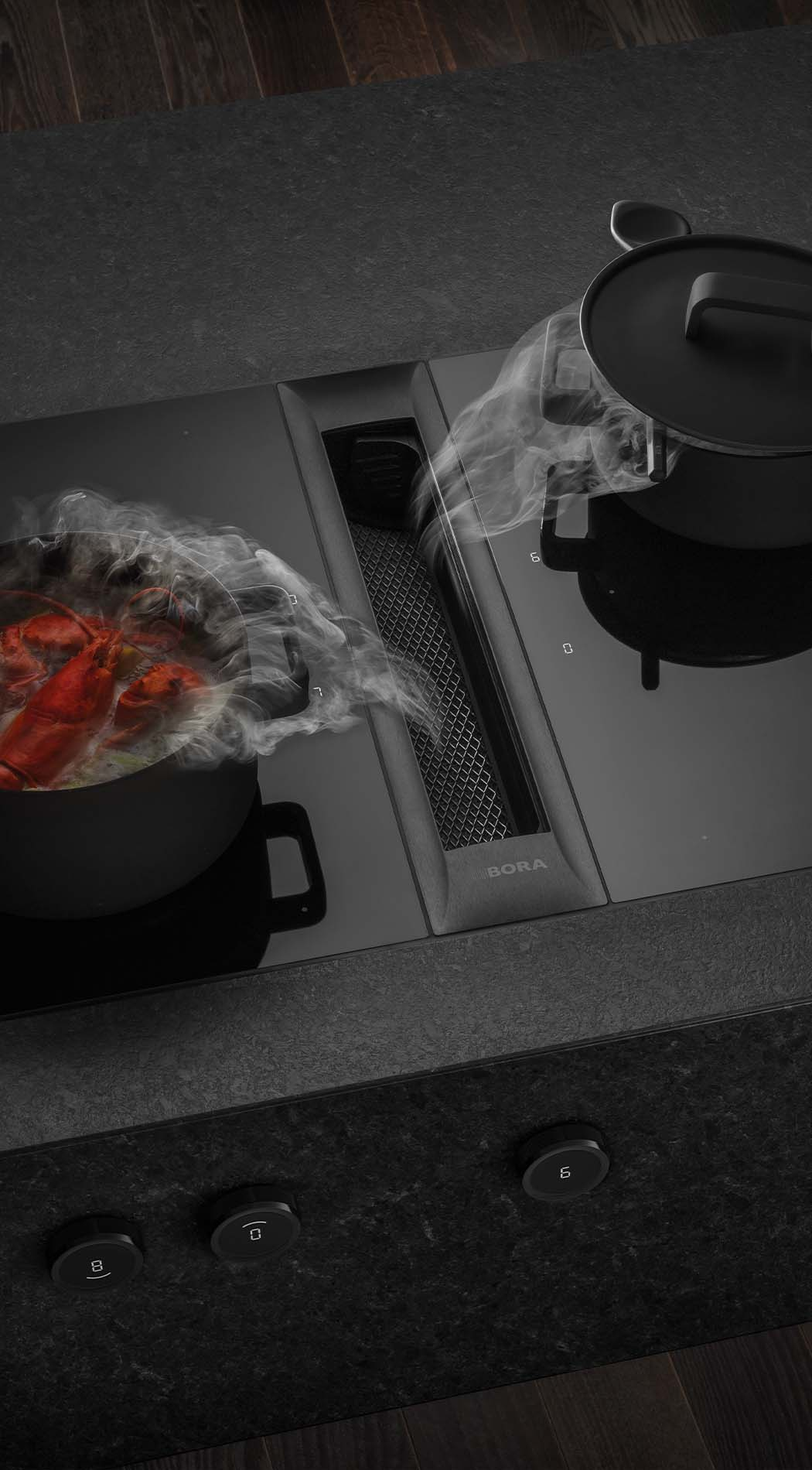 BORA Professional 3.0, BORA Kookplaat met Afzuiging, ASWA Keukens