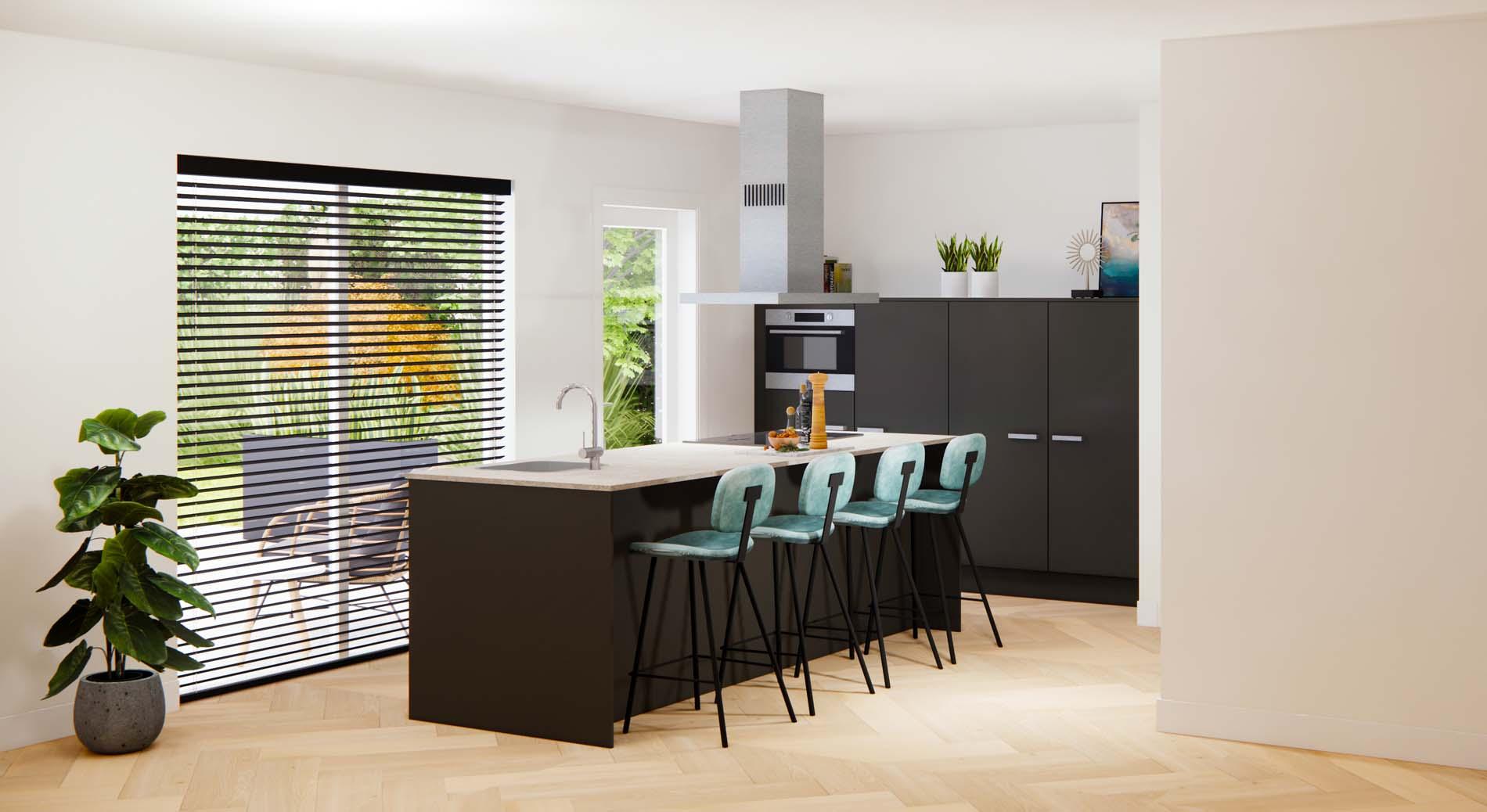 Project Aan 't Hof van Helmond, ASWA Keukens 210650