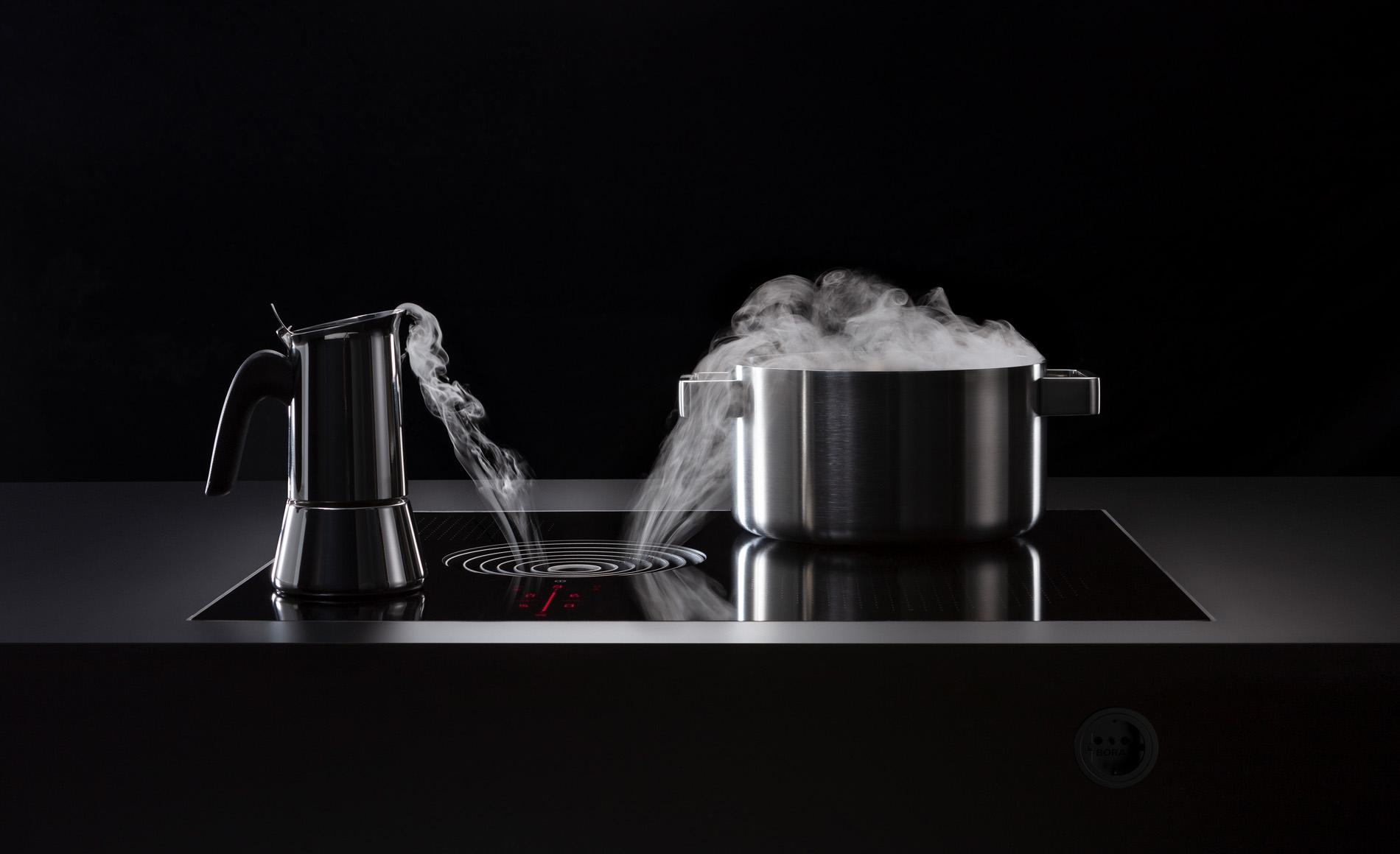 BORA S Pure kookplaat vlak geïntegreerd, Keukenapparatuur ASWA Keukens