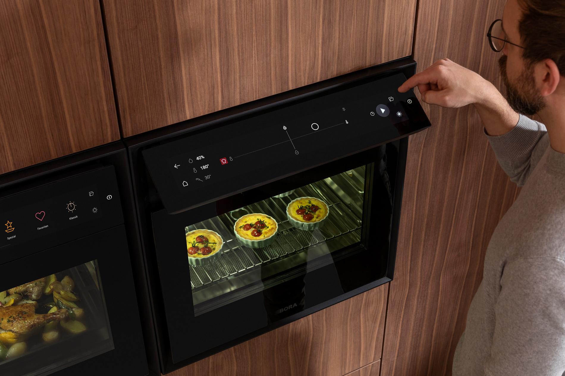 BORA X BO luxe oven met flexibel display, Keukenapparatuur ASWA Keukens
