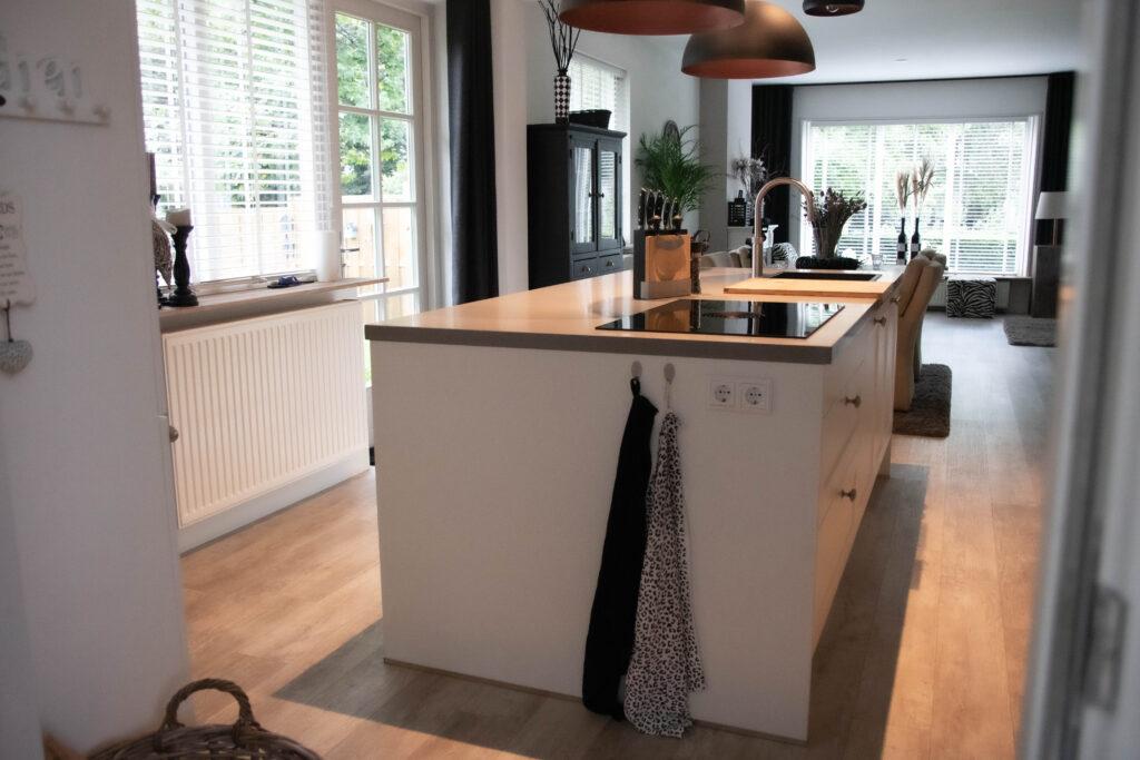 Keukeneiland met BORA kookplaat en Quooker flex, Klantervaring ASWA Keukens